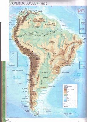 Cartografia da América do Sul