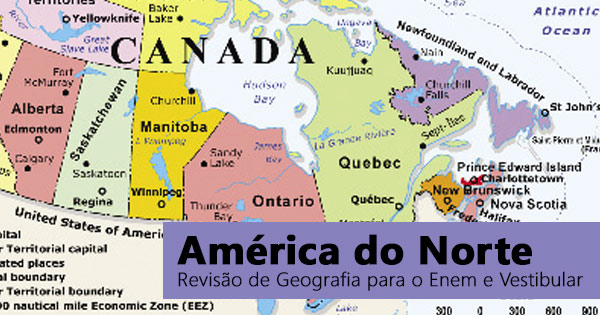 Geografia da América do Norte