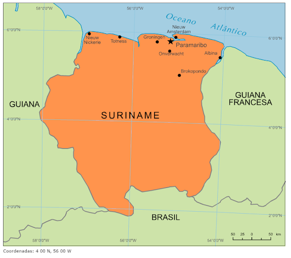 Geografia do Suriname